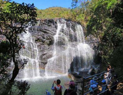 Reise ins Hochland von Sri Lanka